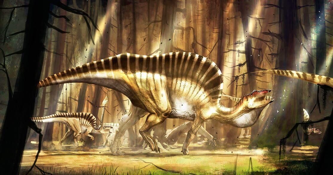 Строение тела Ouranosaurus nigeriensis