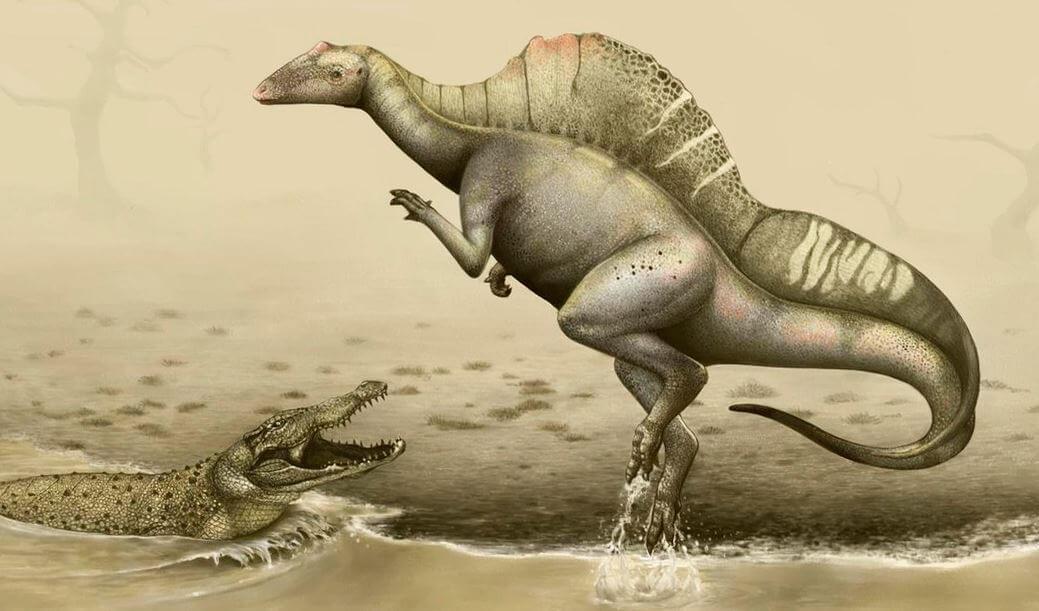 Картинка с уранозавром