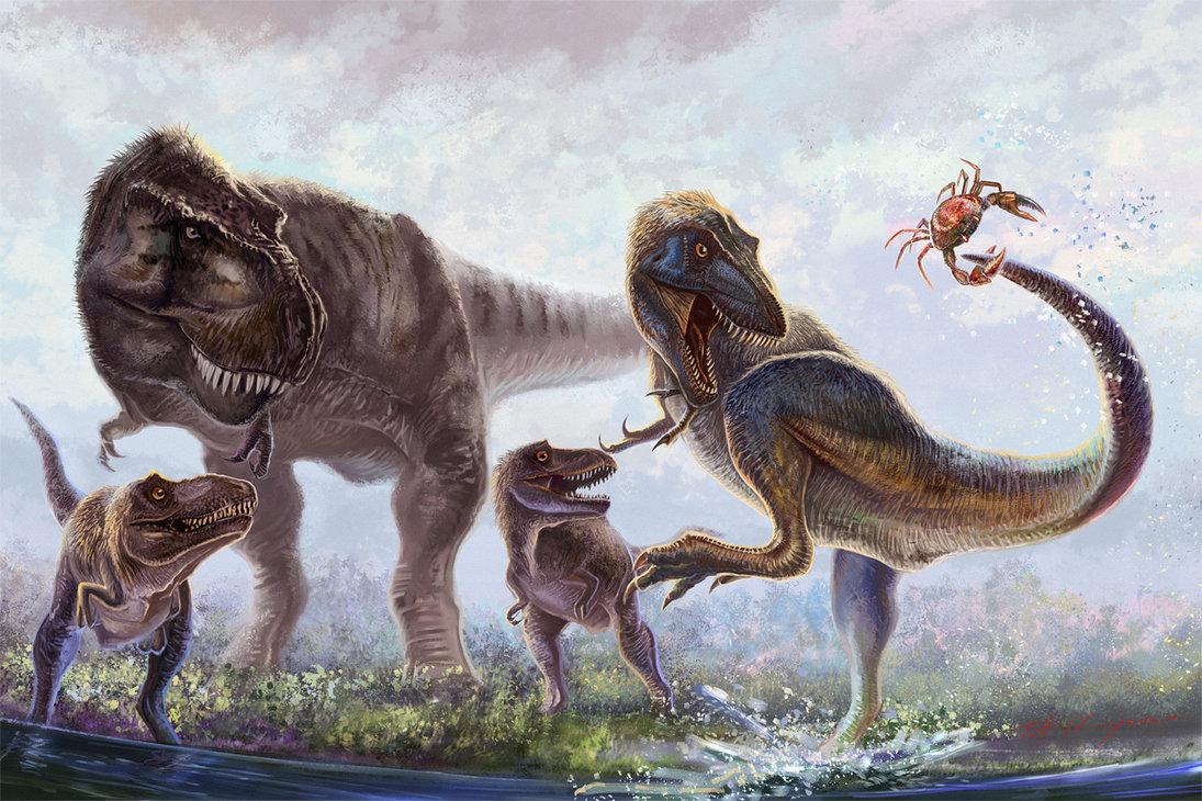 Тираннозавр фото