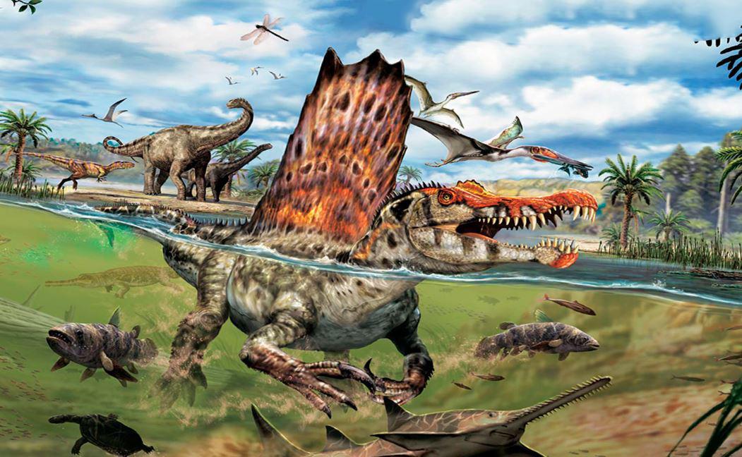 Спинозавр фото